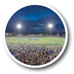 Football field at Marana High School