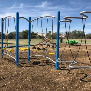 IMAGE: Playground equipment.