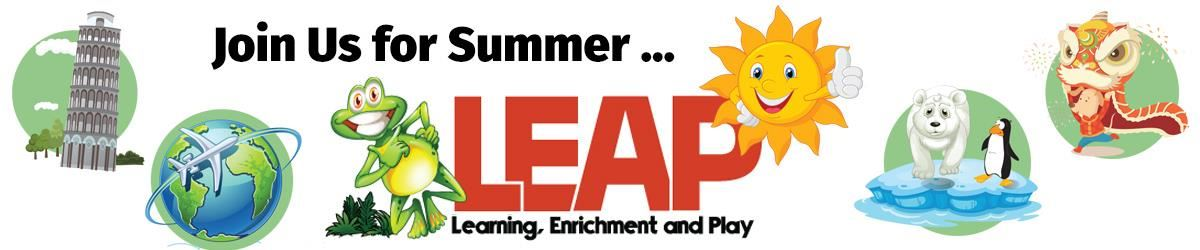 Join Us for Summer LEAP to travel the world!