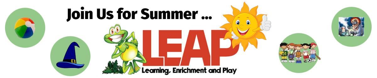 Join us for Summer LEAP!