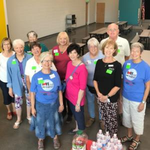 IMAGE: St. Mark's United Methodist Church Volunteers.
