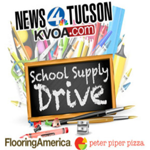 KVOA School Supply Drive