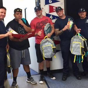 West Valley Firefighters Local 4462 School Supply Drive