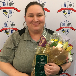 IMAGE:  2020 MUSD Teacher of the Year: Karla Clapper
