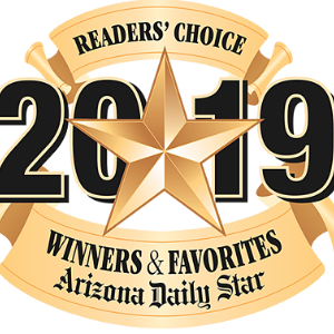 IMAGE: 2019 Az Daily Star Readers Choice Award Logo.