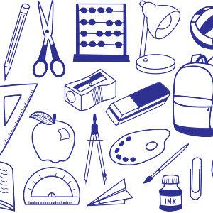 IMAGE: Tools and supplies for science fair projects.
