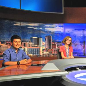 IMAGE: Valentin Ortega appears on News 4 Kids