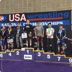Marcus Castillo Places 3rd at Wrestling National Championship