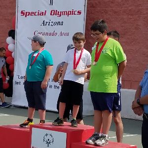 Five Coyote Trail Bridge Students Awarded in Special Olympics
