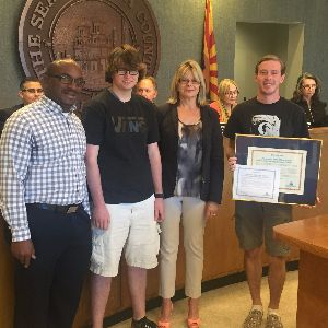 MVHS Students Recognized by Pima County!