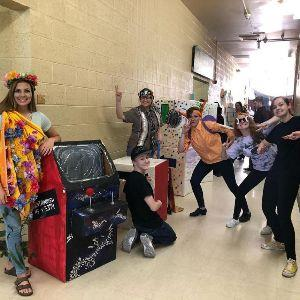MVHS Odyssey of the Mind Team