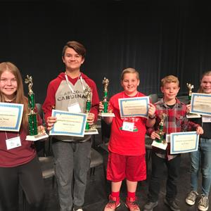 Super Spellers excel at District Spelling Bee