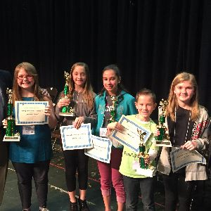 Marana Middle School Student Takes 3rd in MUSD Spelling Bee