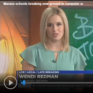 Marana Middle School Featured on KOLD-TV