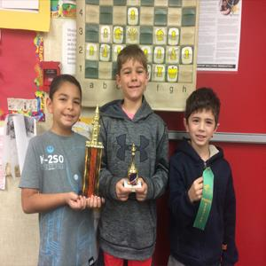 DGE Chess Team Champions