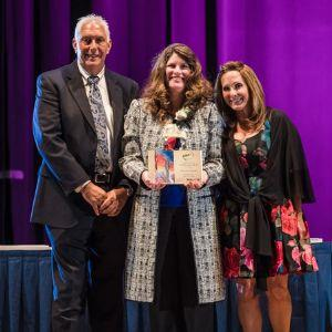 Dr. Dondi Luce Recognized at 2018 Woman of Influence Award Ceremony
