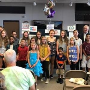 Marana Middle School art students recognized
