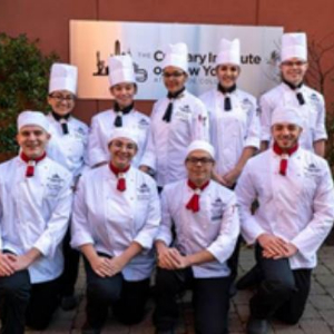 IMAGE: Culinary Institute of New York Competitors.