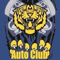 IMAGE: MHS Auto Club with Mascot Tiger Logo.