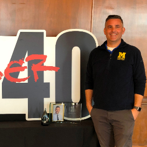 MHS Principal Dr. Mandel Recipient of 40 Under 40 Award