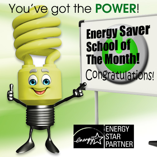 Energy Saver School of the Month - Congratulations!