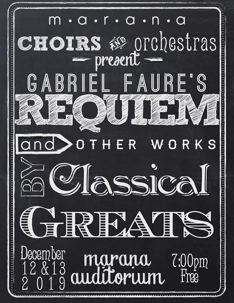 IMAGE: Faure Requiem Performance Poster