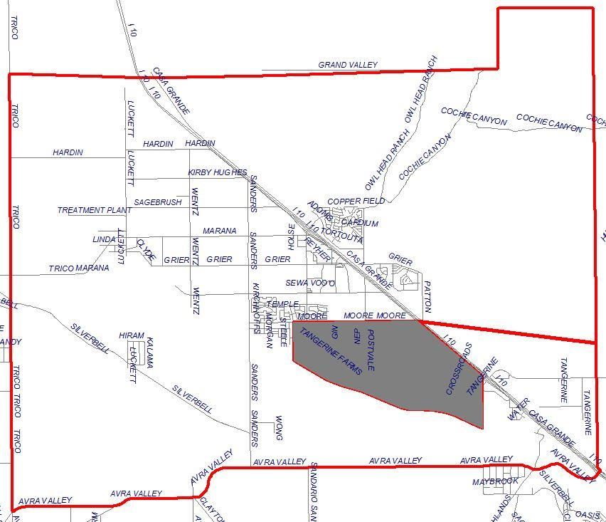 Estes Elementary Boundaries Map (Written description available on this page)