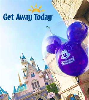 Disneyland Castle and Balloon