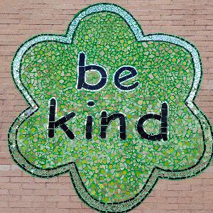 IMAGE: Be Kind Mural.