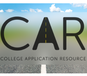 IMAGE: CAR (College Application Resource) Logo.