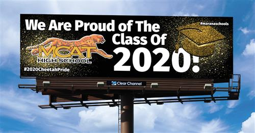 MCAT Billboard