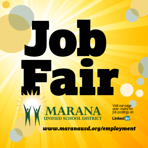 Marana Unified Job Fair, February 3