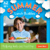 IMAGE: Summer Lunch Buddies child holding lunch tray.
