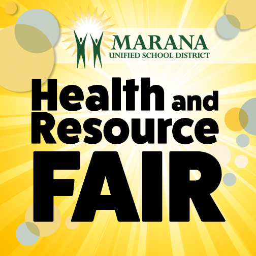 IMAGE: Marana Unified School District Health & Resource Fair.