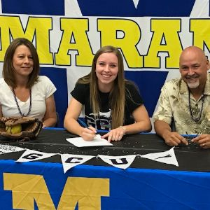 MHS Kelsey Hawkins Signs with Grand Canyon University