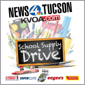 IMAGE: KVOA School Supply Drive.