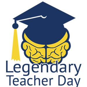 IMAGE: Legendary Teacher Day Logo
