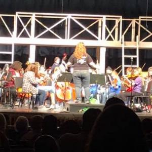 IMAGE: MUSD students perform at the Annual MUSD Westside String Fling.