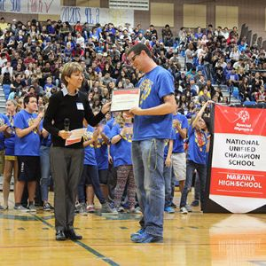 Marana school district High Schools named  National Banner Unified Champion Schools