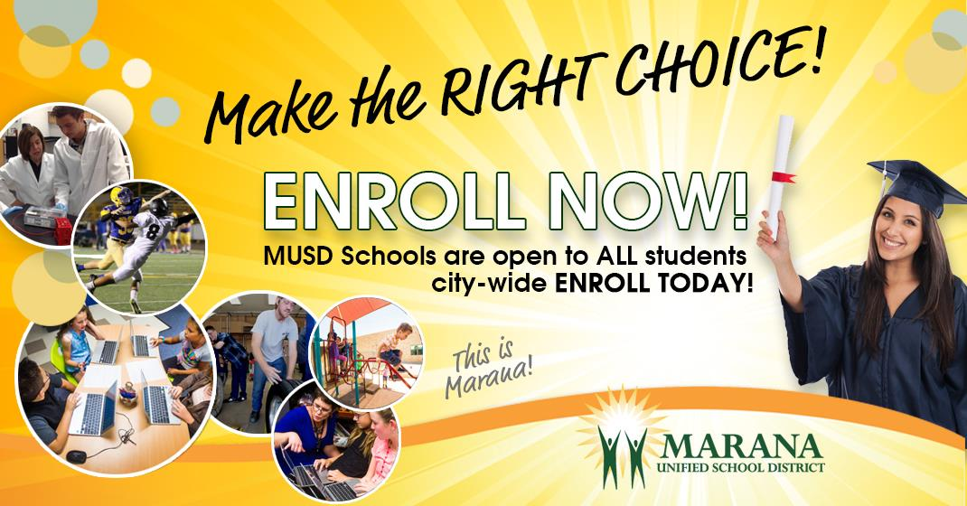 Marana Unified School District / Homepage